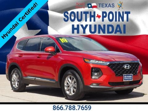 Certified Pre-Owned 2019 Hyundai Santa Fe SEL 2.4 FWD 4D Sport Utility