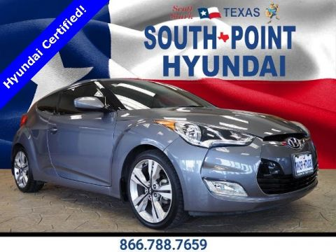 Certified Pre-Owned 2016 Hyundai Veloster Tech FWD 3D Hatchback